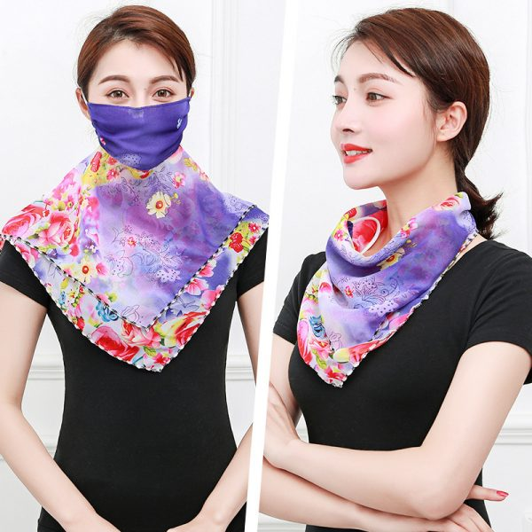 61956 ektgng 600x600 - Temperament neck breathable mask new spring and summer anti-UV chiffon thin veil sunscreen multi-function large mask scarf