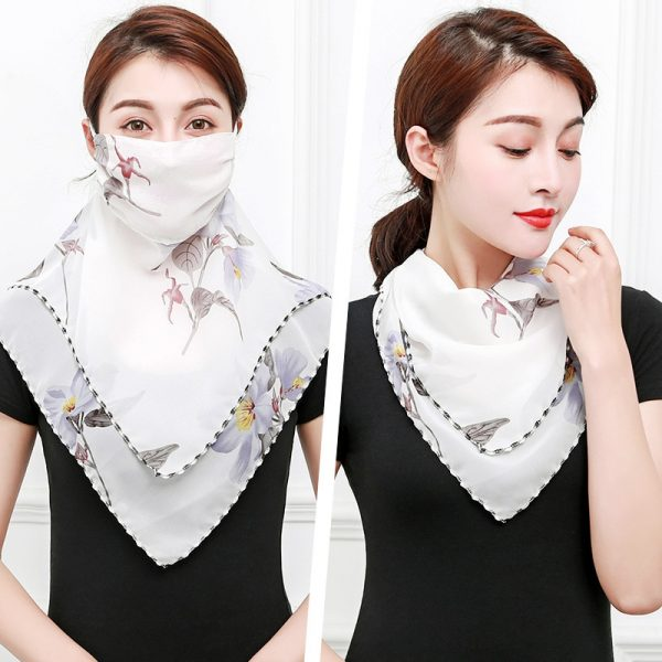61956 ujkxmo 600x600 - Temperament neck breathable mask new spring and summer anti-UV chiffon thin veil sunscreen multi-function large mask scarf
