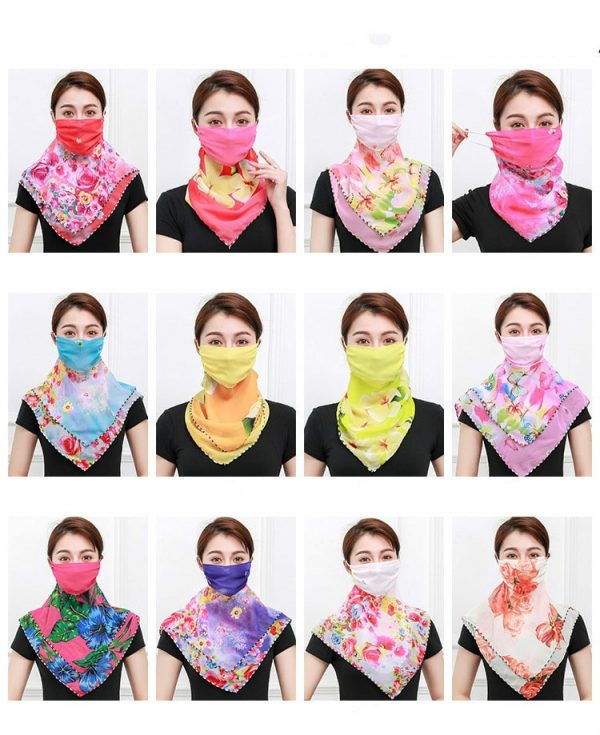 61956 yolis9 600x735 - Temperament neck breathable mask new spring and summer anti-UV chiffon thin veil sunscreen multi-function large mask scarf