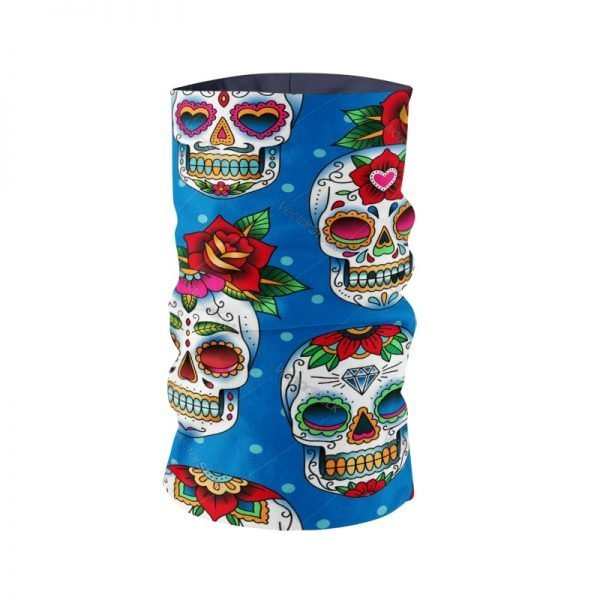 61968 rm4mdi 600x600 - Fashion Printing Skull Series Headscarf Hair Accessories Designer Tubular Mask bufanda Cycling Neck Gaiter braga cuello buffe