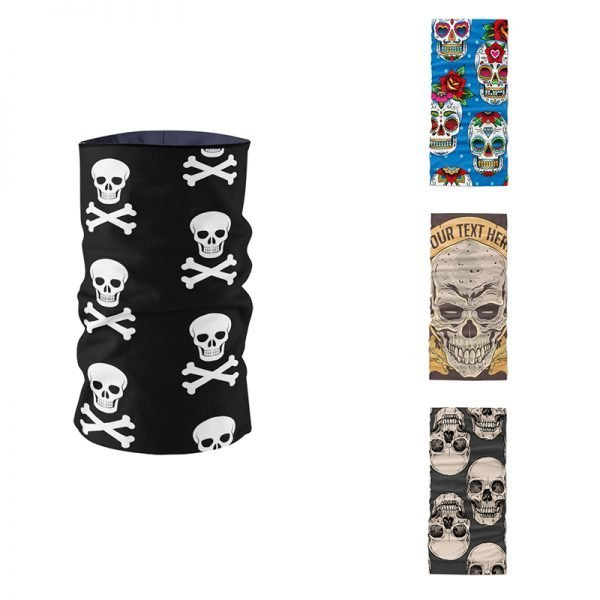 61968 ycamew 600x600 - Fashion Printing Skull Series Headscarf Hair Accessories Designer Tubular Mask bufanda Cycling Neck Gaiter braga cuello buffe
