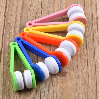 63312 ei3sms - Handy Glasses Cleaner Tools F Random Color Super Fine Fiber Glasses Cleaner Rub Power with  lens Clothes Cleaner