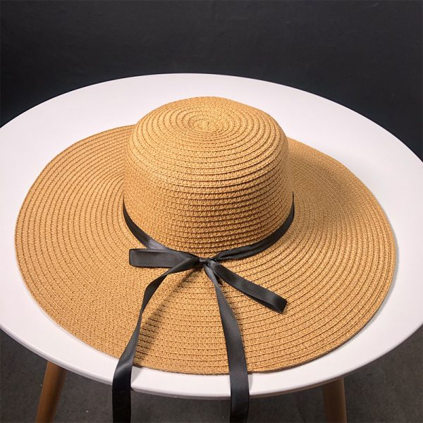 63560 imup0e 600x600 - New Product Straw Hats Ma'am Leisure Go On A Journey Bow Straw Hat Outdoors On Vacation Sunscreen Will Eaves Sun Hat