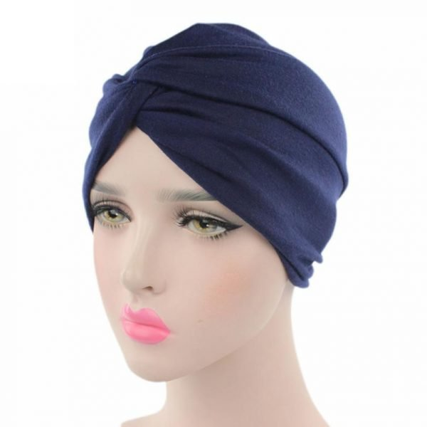 63585 9nmluj 600x600 - High quality Women Cancer Chemo Hat Beanie Scarf Turban Head Wrap Cap Soft comfortable Cotton Knitted hat Drosphipping#V30