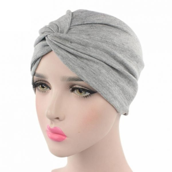 63585 rrq4xs 600x600 - High quality Women Cancer Chemo Hat Beanie Scarf Turban Head Wrap Cap Soft comfortable Cotton Knitted hat Drosphipping#V30
