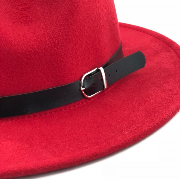 63634 7if5iq 600x596 - free shipping 2020 new Fashion men fedoras women's fashion jazz hat summer spring black woolen blend cap outdoor casual hat X XL