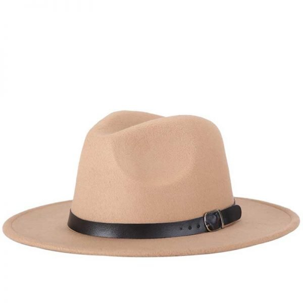 63634 fymmca 600x600 - free shipping 2020 new Fashion men fedoras women's fashion jazz hat summer spring black woolen blend cap outdoor casual hat X XL