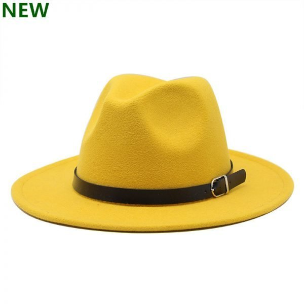 63634 k2f9xx 600x600 - free shipping 2020 new Fashion men fedoras women's fashion jazz hat summer spring black woolen blend cap outdoor casual hat X XL