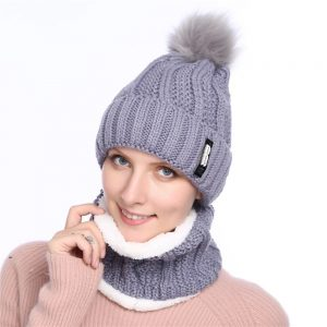 63905 mcrrq1 300x300 - 2019 New Cute Pom Poms Winter Hat For Women Fashion Solid Warm Hats Knitted Beanies Cap Brand Thick Female Cap Bib
