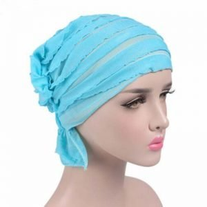 63984 zgn03z 300x300 - India Hot Style Ox Tripe PRE-TIE-STYLE Skullies Beanies Spring Autumn Brand Cotto Turban Hats For Women Chiffon Chemotherapy Cap