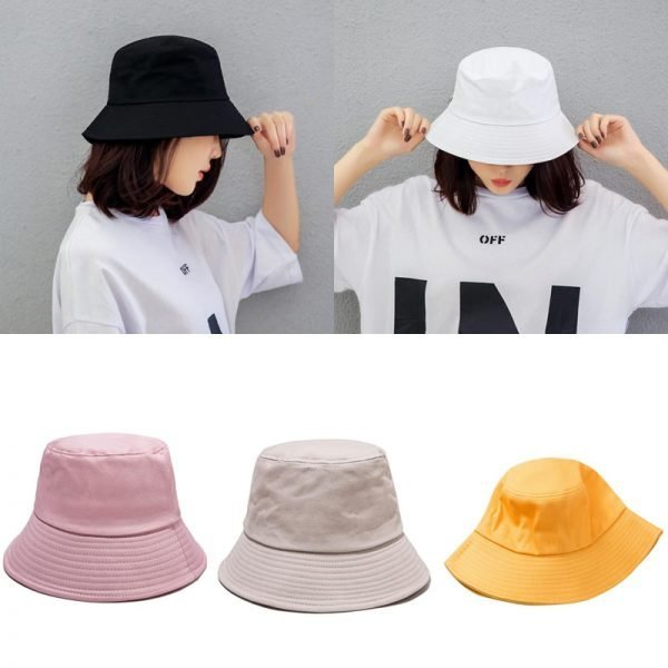 64000 9xclga 600x600 - New ladies men's hat spring and summer solid color fashion hat
