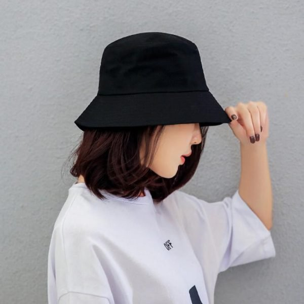 64000 y4qjus 600x600 - New ladies men's hat spring and summer solid color fashion hat