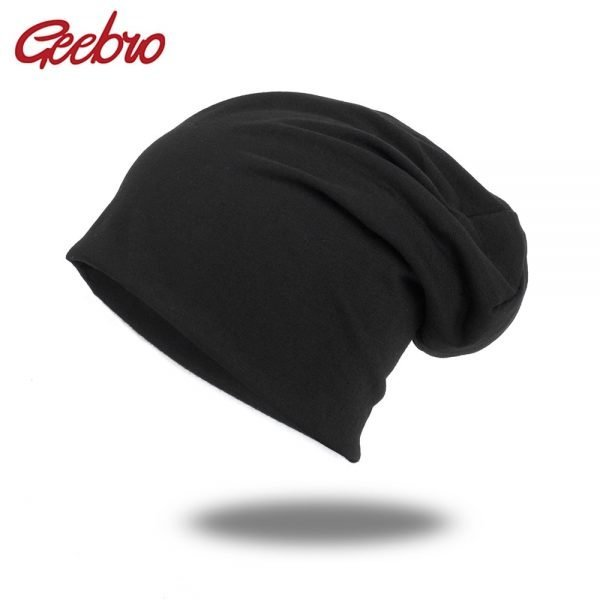 64066 k9sswp 600x600 - Geebro 2019 Casual Hats for Unisex Women New Beanies Knitted Solid Cute Hat Girls Autumn Female Beanie Caps Warmer Bonnet Ladies