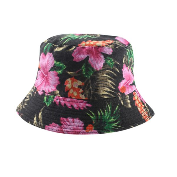 64149 muoe6m 600x600 - Unisex Banana Print Yellow Pana Bucket Hat Men Women Summer Cotton Bob Outdoor Fisherman Hat Two Sided Fishing Hat
