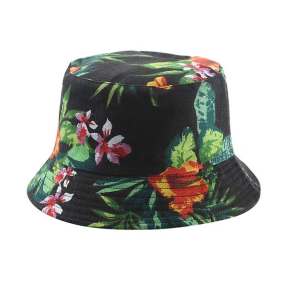 64149 wcvhwa 600x600 - Unisex Banana Print Yellow Pana Bucket Hat Men Women Summer Cotton Bob Outdoor Fisherman Hat Two Sided Fishing Hat