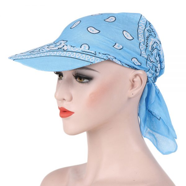 64173 nvd4pk 600x600 - Hats For Women Multifunctional Warm Sunscreen With Cotton Print Casual Adjustable Cotton Trend Dignified Summer Hats For Women