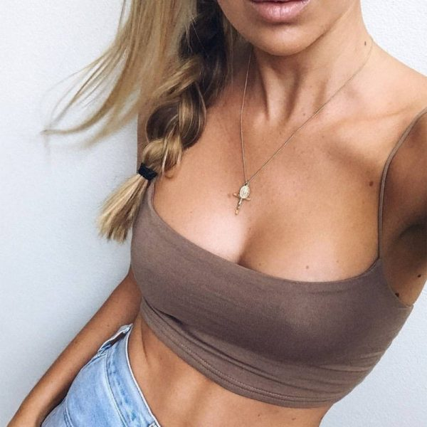 64935 tpqmpx 600x600 - 2019 New Fashion Women Sexy Crop Tops Solid Summer Camis Women Casual Tank Tops Vest Sleeveless Crop Tops blusas