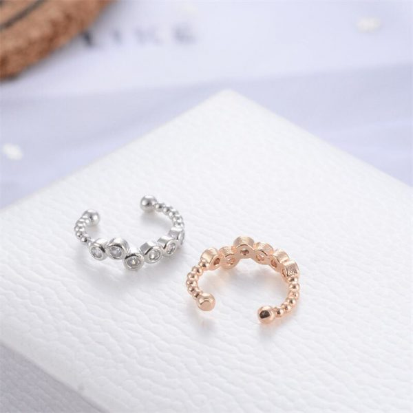 67347 maeeek 600x600 - Modyle 1 pcs Vintage Crown Flower Leaf Ear Cuff Non Pierced Clip Earrings for Women Trendy Punk Small Carved Hollow Crystal