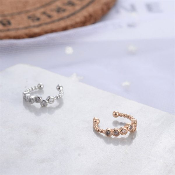 67347 qssasj 600x600 - Modyle 1 pcs Vintage Crown Flower Leaf Ear Cuff Non Pierced Clip Earrings for Women Trendy Punk Small Carved Hollow Crystal