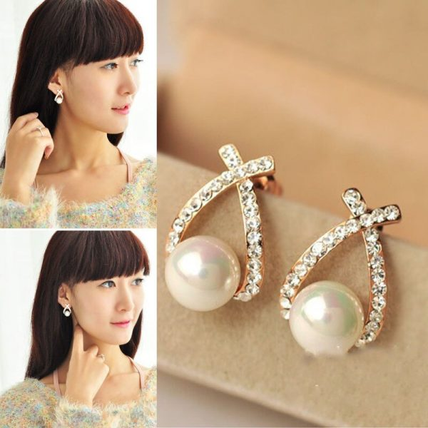 67537 jloy9r 600x600 - Wedding Jewelry Rhinestone Style Wedding Earrings For Women earrings 2020 round bohemian brincos Dangle Earrings Dropship